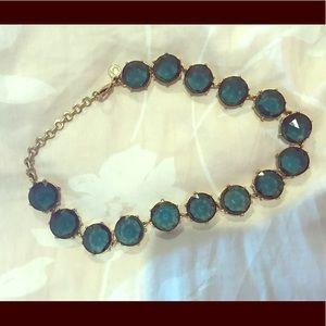 C. Wonder blue rhinestone necklace